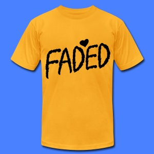 Faded XO T-Shirts - Men's T-Shirt by American Apparel