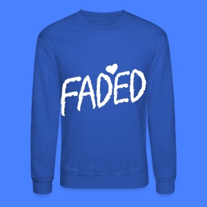 Faded XO Long Sleeve Shirts - Crewneck Sweatshirt