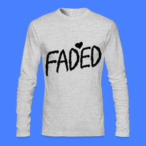 Faded XO Long Sleeve Shirts - Men's Long Sleeve T-Shirt by Next Level