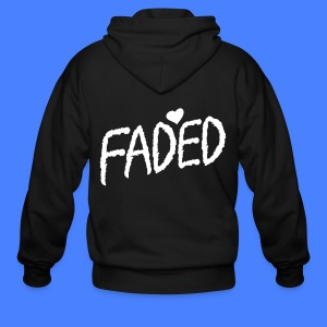 Faded XO Zip Hoodies/Jackets - Men's Zip Hoodie