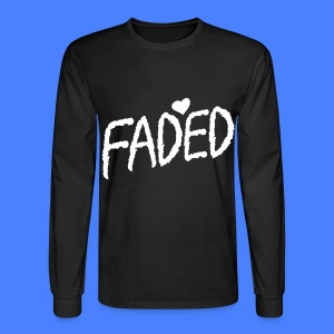 Faded XO Long Sleeve Shirts - Men's Long Sleeve T-Shirt