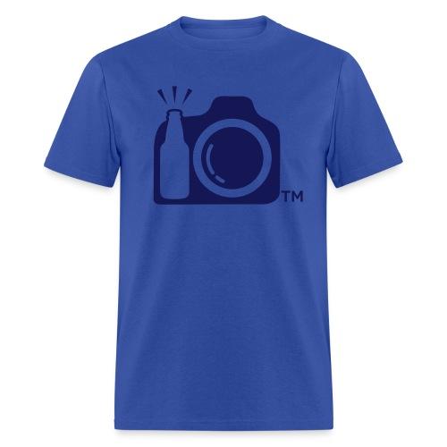 Blue T-Shirt Blue logo - Men's T-Shirt