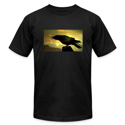 Black Crow Watching - Men's  Jersey T-Shirt
