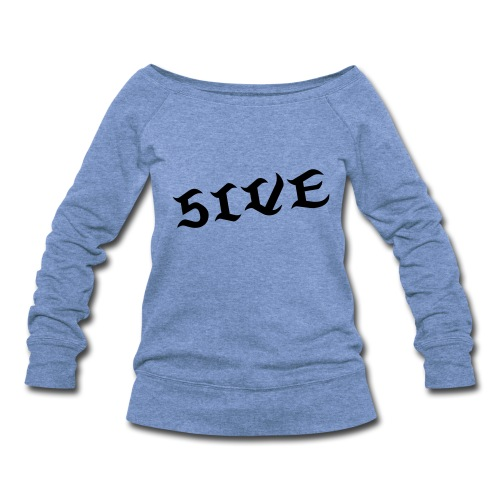 FIVE Dance Shirt [GRAY] - Women's Wideneck Sweatshirt