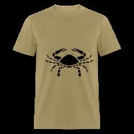 T-Shirts ~ Men's T-Shirt ~ Cancer Zodiac Sign T-shirt - Cancer Symbol Crab
