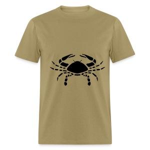 Cancer Zodiac Sign T-shirt - Cancer Symbol Crab - Men's T-Shirt