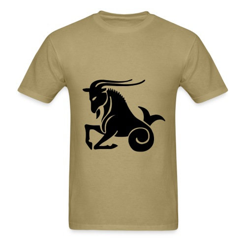 Capricorn Zodiac Sign T-shirt - Capricorn Symbol Goat - Men's T-Shirt