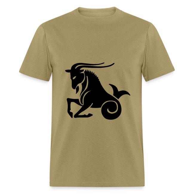 Capricorn Zodiac Sign T-shirt - Capricorn Symbol Goat