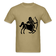 T-Shirts ~ Men's T-Shirt ~ Sagittarius Zodiac Sign T-shirt - Sagittarius Symbol Centaur /Archer