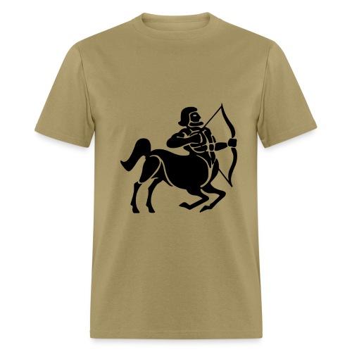 Sagittarius Zodiac Sign T-shirt - Sagittarius Symbol Centaur /Archer - Men's T-Shirt