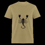 T-Shirts ~ Men's T-Shirt ~ Scorpio Zodiac Sign T-shirt - Scorpio Symbol Scorpion