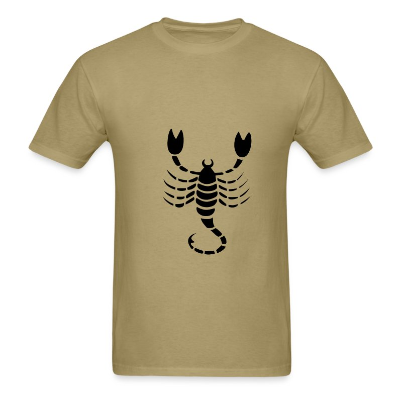 Scorpio Zodiac Sign T-shirt - Scorpio Symbol Scorpion - Men's T-Shirt