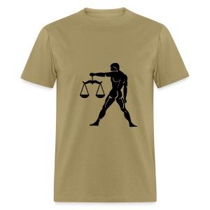 Libra Zodiac Sign T-shirt - Libra Symbol Scales - Men's T-Shirt