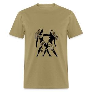 Gemini Zodiac Sign T-shirt - Gemini Symbol Twins - Men's T-Shirt