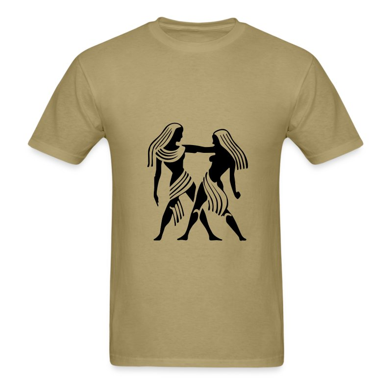 Gemini Zodiac Sign T-shirt - Gemini Symbol Twins - Men's T-Shirt