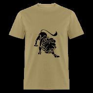T-Shirts ~ Men's T-Shirt ~ Leo Zodiac Sign T-shirt - Leo Symbol Lion