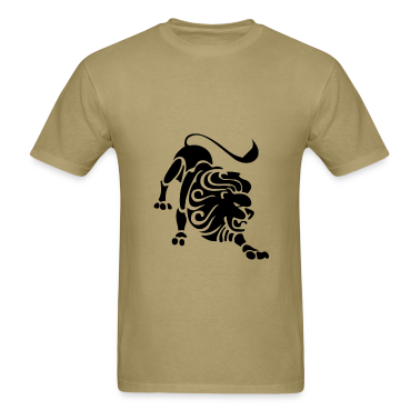 Leo Zodiac Sign T-shirt - Leo Symbol Lion