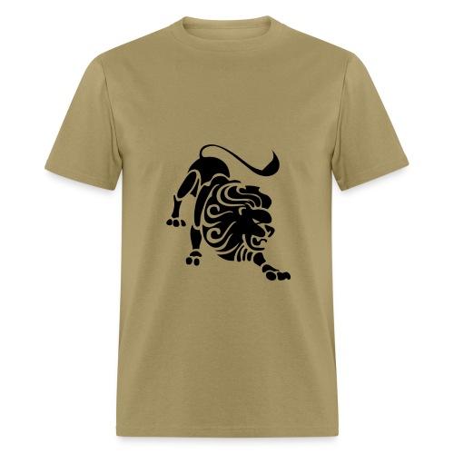Leo Zodiac Sign T-shirt - Leo Symbol Lion - Men's T-Shirt