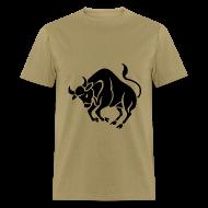 T-Shirts ~ Men's T-Shirt ~ Taurus Zodiac Sign T-shirt - Taurus Symbol Bull