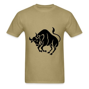 Taurus Zodiac Sign T-shirt - Taurus Symbol Bull - Men's T-Shirt