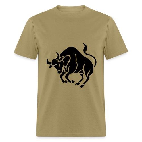 Taurus Zodiac Sign T-shirt - Taurus Symbol Bull - Men's T-Shirt