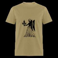 T-Shirts ~ Men's T-Shirt ~ Virgo Zodiac Sign T-shirt - Virgo Symbol Virgin