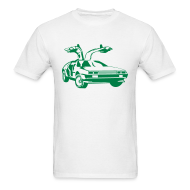 T-Shirts ~ Men's T-Shirt ~ BTTF Gullwing Door