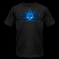 T-Shirts ~ Men's T-Shirt by American Apparel ~ MENS TEE: DotaCinema logo 2 black text