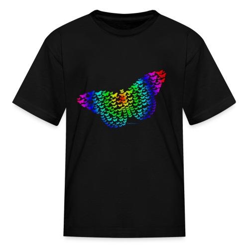 Rainbow Butterfly - Kids' T-Shirt