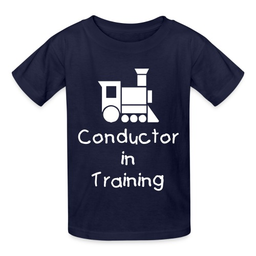 Conductor in Training - Kids' T-Shirt