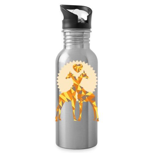 Giraffe Love Water Bottle - Water Bottle