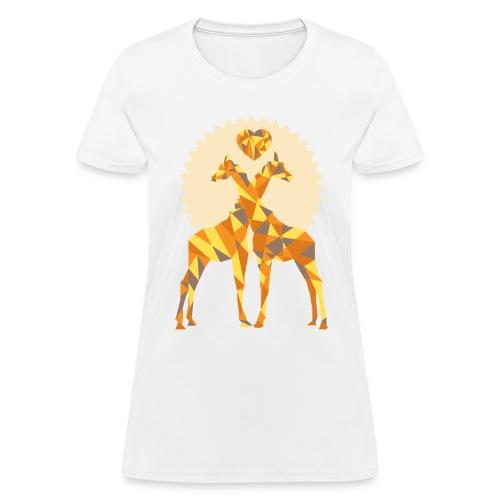 Giraffe t-shirt - Women's T-Shirt