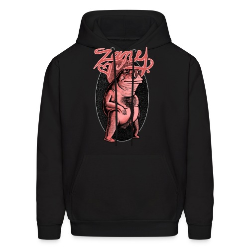 The Zany Anus Man HOODIE - Men's Hoodie