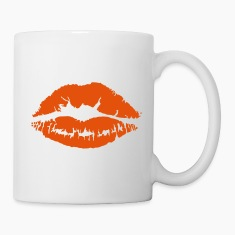 Kiss Lips Bottles & Mugs