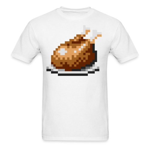 Pixelated Chicken - Men's T-Shirt