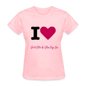 I LOVE GIRLZ GLITZ & GLAM - Women's T-Shirt