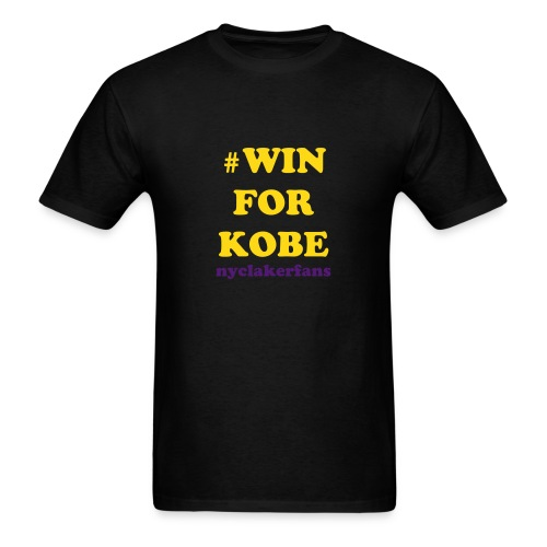 #WIN for Kobe - Men's T-Shirt