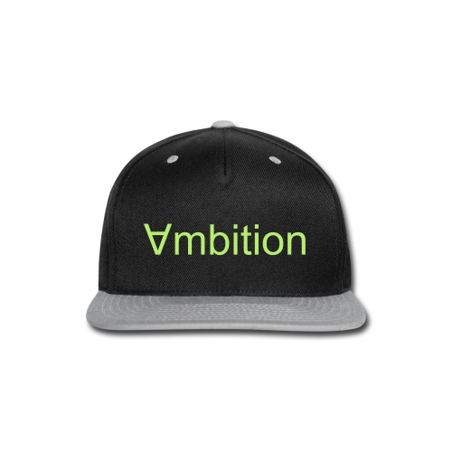 ∀mbition snap back  - Snap-back Baseball Cap