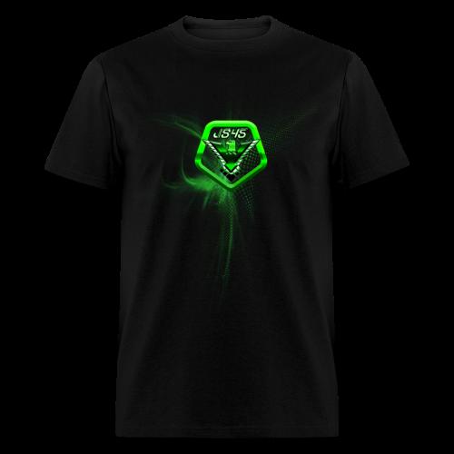 JS45 Logo 5th Anniversary Forward Black - Men's T-Shirt