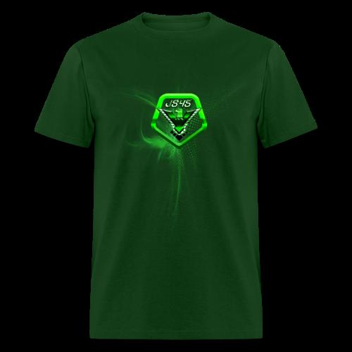 JS45 Logo 5th Anniversary Forward Green - Men's T-Shirt