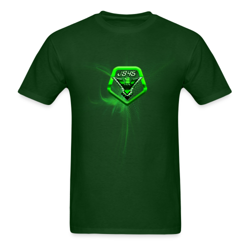 JS45 Logo 5th Anniversary Forward Green - Men's T-Shirt