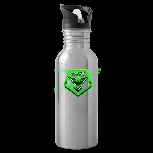 JS45 Logo 5th Anniversary Water Bottle Forward - Water Bottle