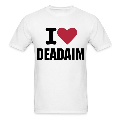 i heart deadaim - Men's T-Shirt