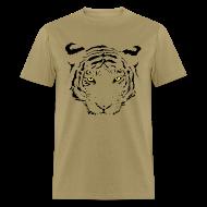 T-Shirts ~ Men's T-Shirt ~ Tiger Lines