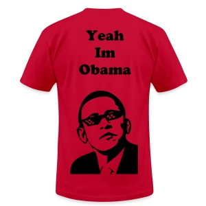 Obama's Official T-Shirt - Men's T-Shirt by American Apparel