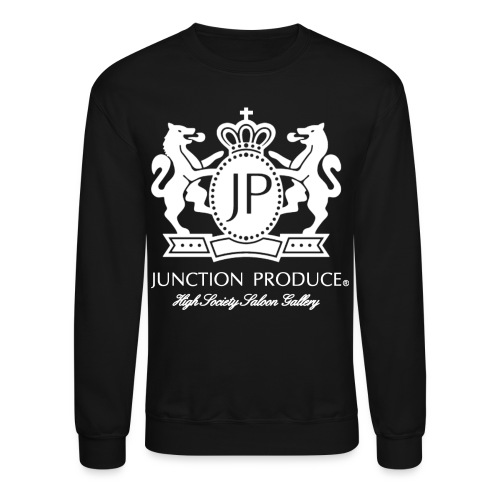 Black Long Sleeve - Crewneck Sweatshirt