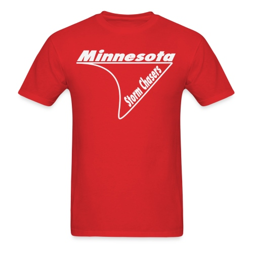 Minnesota Storm Chasers Outline design - Men's T-Shirt