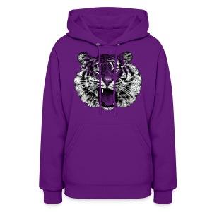 Winking Tiger (women) - Women's Hoodie