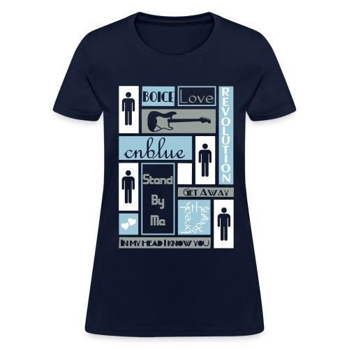 Composition CNblue 2 - Women's T-Shirt