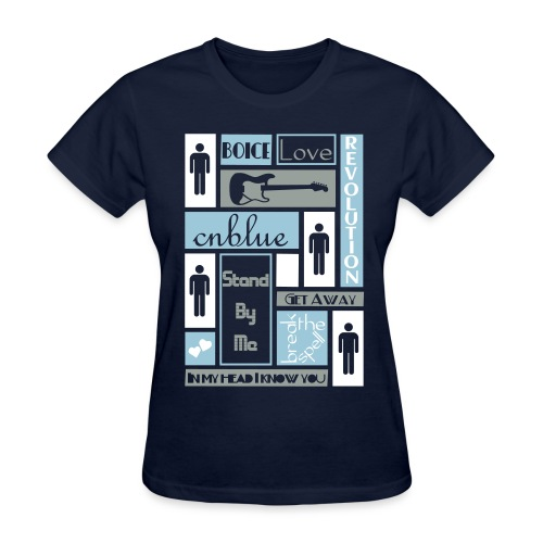 Composition CNblue 2 - Women's T-Shirt